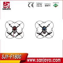 El mejor control remoto de venta JJRC F180C 2.4GHZ Seis ejes GYRO 5.8G transmisión de imagen en tiempo cuatro aviones de rotor SJY-JJRC-F180C