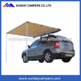 4wd Car roof rack awning, vehicle awning for outdoor camping