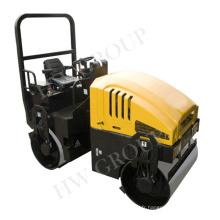 Compacteur hydraulique de rouleau de route de petit rouleau hydraulique de route
