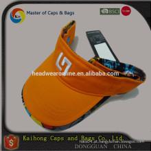 Alta qualidade dom viseira de dongguan fábrica chapéu OEM