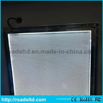 Высокое качество акриловые световод панель для светового короба