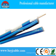 Rg 58 Cable de CCTV Cable coaxial Braid Shield Cable de PVC