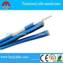 Rg 58 CCTV кабель Коаксиальный кабель Оплетка экрана ПВХ кабель