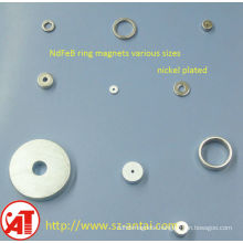 NdFeB ring shaped magnets