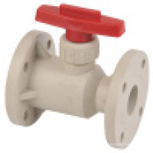 Pph Flange Ball Valve/Thermoplastic Ball Valve