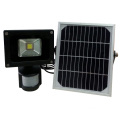 12v led flood light with sensor and solar panel