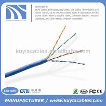 1000FT Cat5e UTP Blanco Sólido Cable Ethernet de red