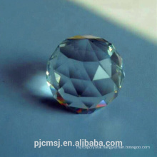 face cut crystal ball for decoration
