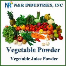 Poudre de poudre de fruits et légumes ou poudre de jus 100% stérilisation à la vapeur pure et naturelle