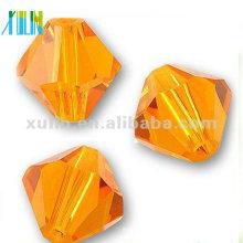 Cuentas de Bicone cristalinas de cristal del grado al por mayor del precio 4m m