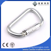 Hot sale! high quality! bulk small aluminum round bag carabiner clips
