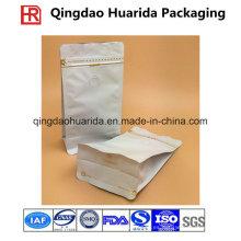 Bolso de café del papel de aluminio / bolso de encargo de la impresión con la válvula