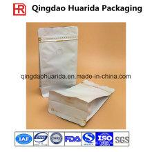 Aluminium Foil Coffee Packaging / Custom Printing Coffee Bag with Valve