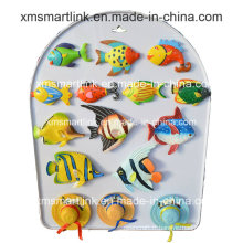 Handy Sculpture Polyresin Ocean Fish Fridge Magnet Artisanat