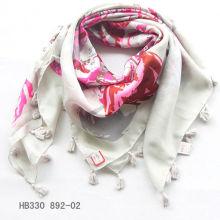 fashion pendant square scarf
