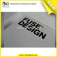 Hot Stamping letterpress paper quick business card printing