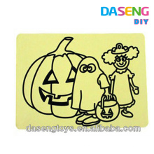 Paper material diy sand drawing cards for kids