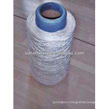 30х/6 вискозных нитей для ковровой пряжи сырцовая белая