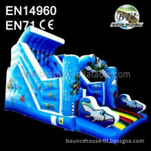 Blue Sea World Inflatable Water Slide