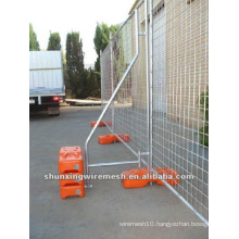 Hot dipped Galvanized Removable Temporary Mesh Fencing Panel