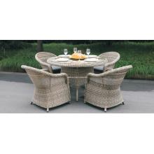 Rattan Dining Set Outdoor Garden Wicker Furniture