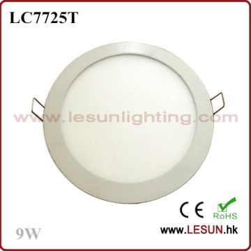 Round Sharp Recessed 15W LED Panel Lighting/Flat Light LC7727t