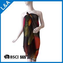 Gedruckte Polyester Georgette Schals für Frauen