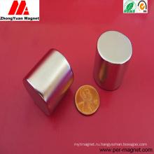 Неодимовый магнит NdFeB с круглым цилиндром высокого качества