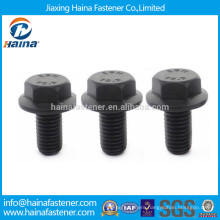 DIN6921 Black Grade10.9 Hex Flange Bolt