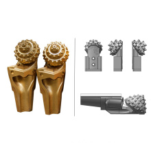 Api well drilling iadc 737 replaceable tci hard rock one cones drill bit single roller cone bit for core barrel