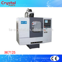 CNC milling machine automatic tool changer lathe machine price XK7125