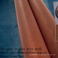 Treillis métallique en bronze phosphoreux