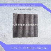 filtre à charbon actif pour l'élimination des gaz