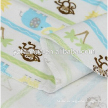 Niños de franela de algodón transpirable verano bebé mantas de bebés