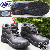 Nmsafety Low Price Cow Split Leather Work Safety Shoes