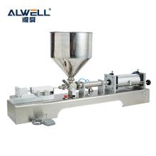 Semi-automatic Ice Cream Nut Paste Oil Bottling Filling Machine