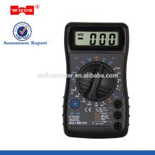 Multimètre numérique portatif DT820D avec buzzer multimètre numérique populaire