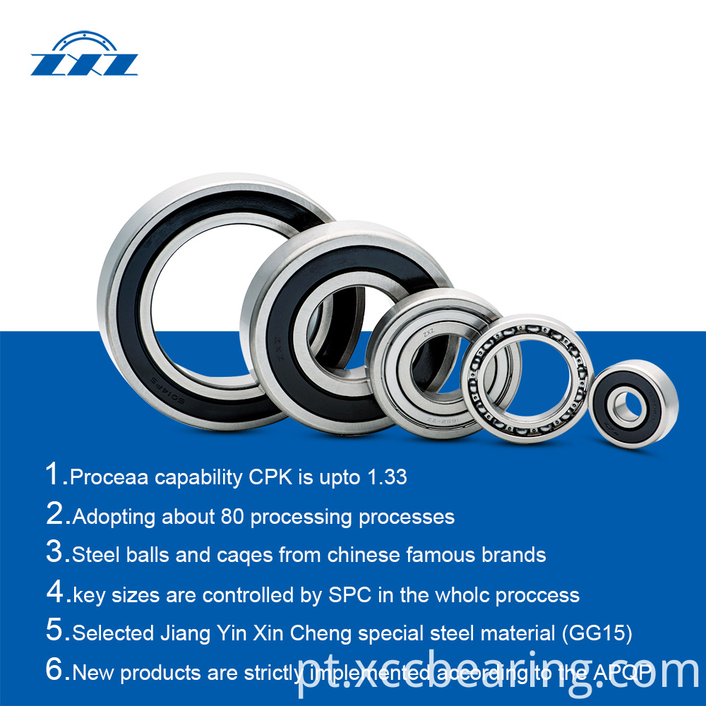 Automotive Bearings Electric Car Transmission Bearings 4