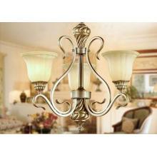 3 Light Modern Wrought Iron Chandelier Lights / Pendant Lig