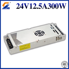 24V 12.5A 300W Slim Power Supply LED