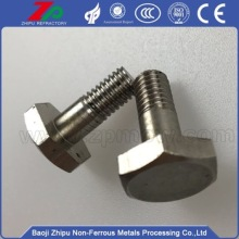 High creep resistance/corrosion resistance Molybdenum screw