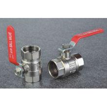 Válvula de bola de varias dimensiones reducida para la opción disponible