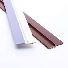 high quality soft and hard combination PVC waterproof door bottom sealing strip weather strip