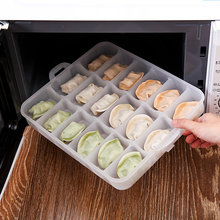 Plastic Portable Dumpling Box With Lid