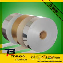 foil tissue paper/no glue aluminum foil paper ,printed colorful embossed pre cut hairdressing hair aluminum foil with tissue