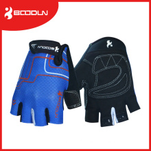 Black Half Finger Crossfit Hands Gloves for Riding
