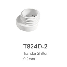 La brida del tubo roscado y el cambiador de transferencia