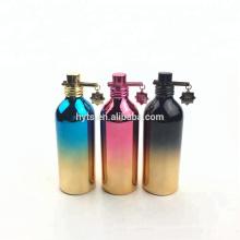 30ml 50ml 100ml luxury bottle perfume aluminium container