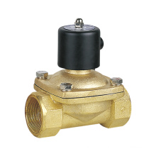 2W Series 2/2 Way 2W500-50 DC24V Direct Acting Air Water Solenoid Valve