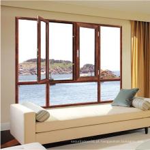 portas de janela design de batente janelas de alumínio de vidro duplo